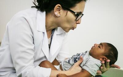 De 13 niños expuestos al Zika en Brasil, siete fueron diagnosticados con...
