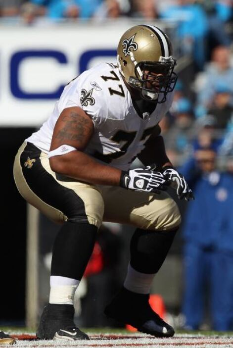 55. Carl Nicks (guardia - New Orleans Saints)