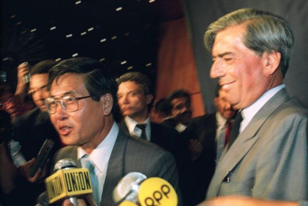 En 1990 postuló a la presidencia del Perú. Fue derrotado por el entonces...