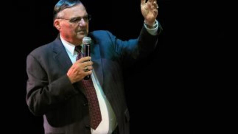 El jefe de la policía de Maricopa, Arizona, Joe Arpaio, acusado de exten...