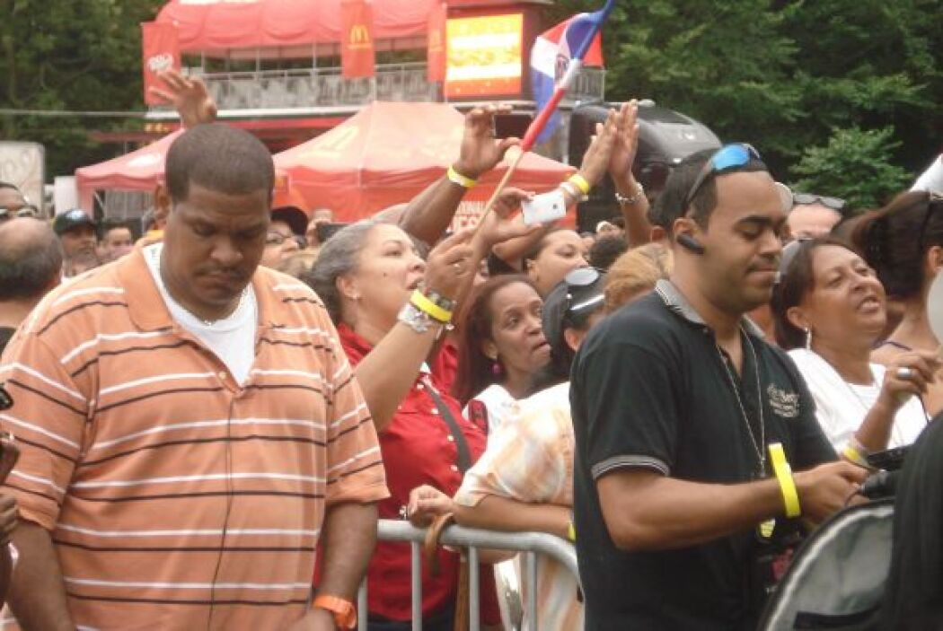 Latin grammy Street Party New York 2011