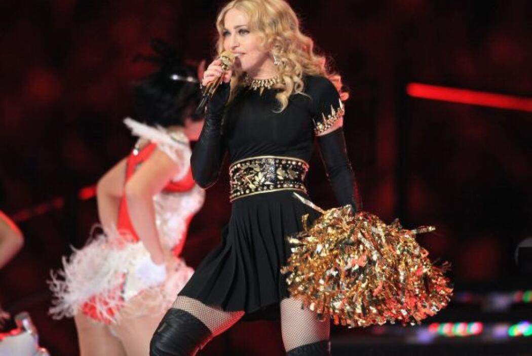 Madonna fue espectacular en el pasado Super Bowl XLVII en Indiana.