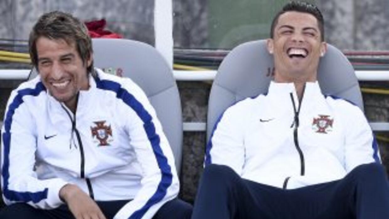 Coentrao, quien ha quedado fuera del Mundial por lesión, parece optimist...