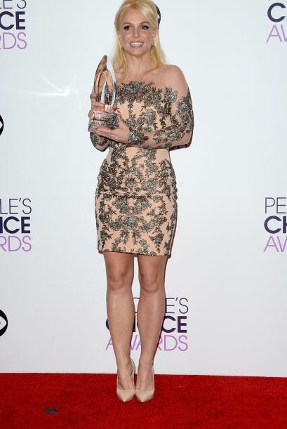 Britney Spears, otra de las grandes estrellas que dijeron presente.