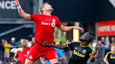 Columbus Crew y Toronto FC empatan 3-3