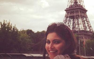 Chiqui Delgado y Jorge Ramos disfrutan de su amor en Paris
