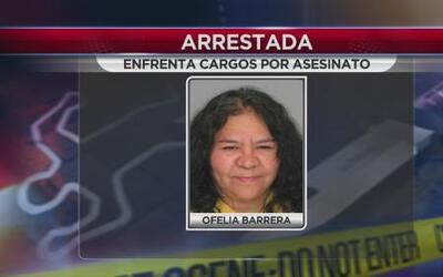 Arrestada por asesinato