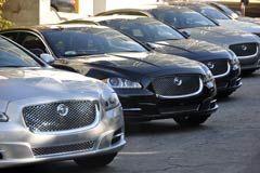 Jaguar XJ 2010 en  Los Angeles