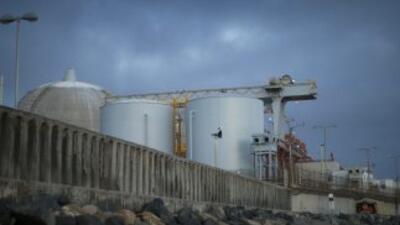 La central nuclear de San Onofre, en la costa del estado de California.