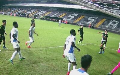 Ronaldo anotó el 1-0 de México sobre Honduras