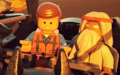 Los protagonistas de 'The Lego Movie' volvieron a ser niños