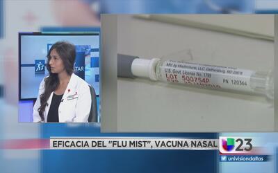 Vacunas inyectadas o nasales