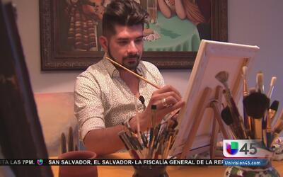 Artista de Houston le llevará un regalo muy especial a Obama