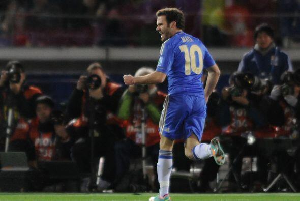 Con el 1-0 desde el minuto 17 vía Juan Mata, parecía que l...