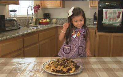 Al sazón de los niños: nachos con frijoles y pollo