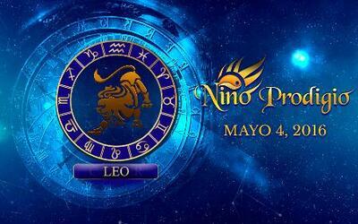 Niño Prodigio - Leo 4 de mayo, 2016