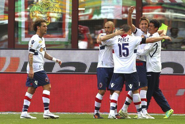El Bolonia sabía que debía hacer un juego perfecto para lograr la victoria.