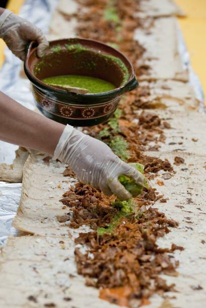 Ingredientes como el chile, típicamente mexicano, no podía faltar.