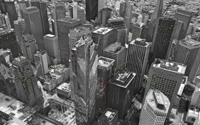 Rascacielos en el Distrito Financiero de San Francisco.