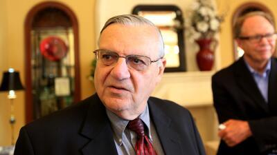 El Alguacil de Maricopa, Joe Arpaio.