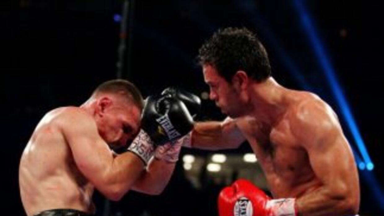 En una pelea trepidante Rodríguez derrotó a WOlak.