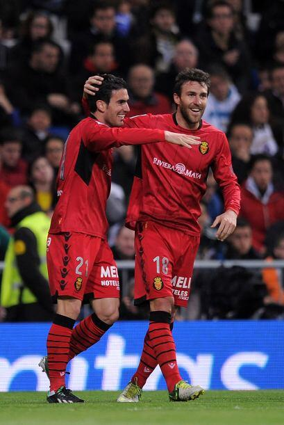 Pero el Mallorca quería sorprender y volvió a adelantarse con gol de Alf...