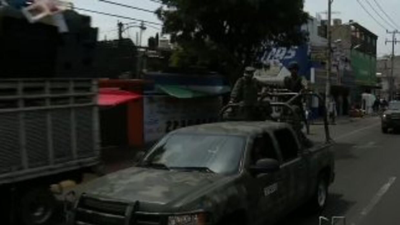 Ola de violencia en el Estado de México obligan al Ejército a patrullar