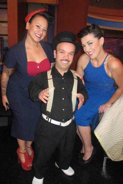 El Gordo y La Flaca vintage