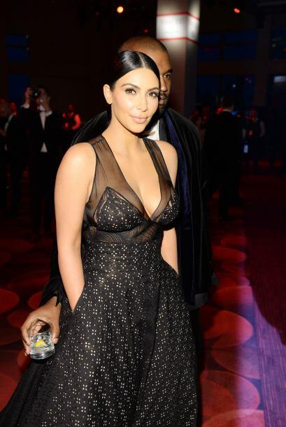Kim y Kanye en el evento de TIME.