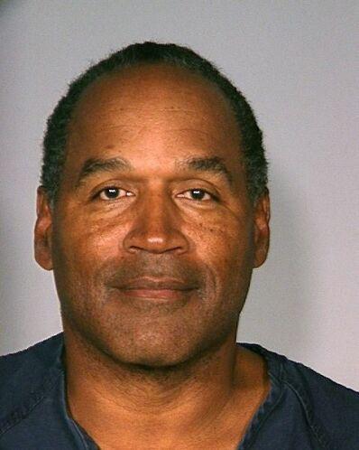 O.J. Simpson fue fichado el 16 de septiembre del 2007 por robo y asalto...