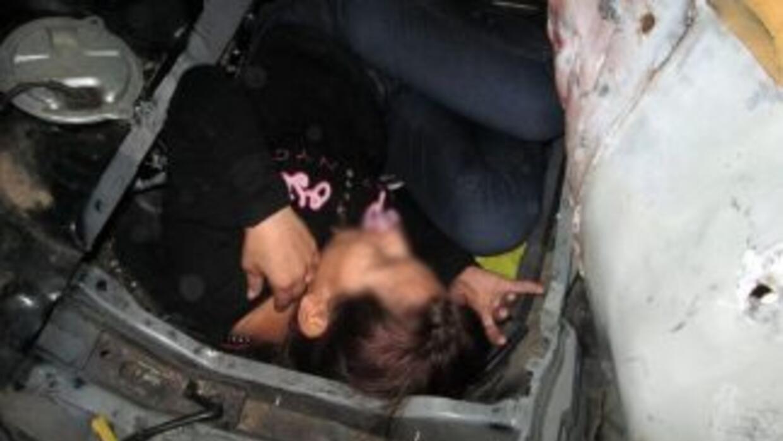 Imagen proporcionada por laOficina de Aduanas y Protección Fronteriza d...
