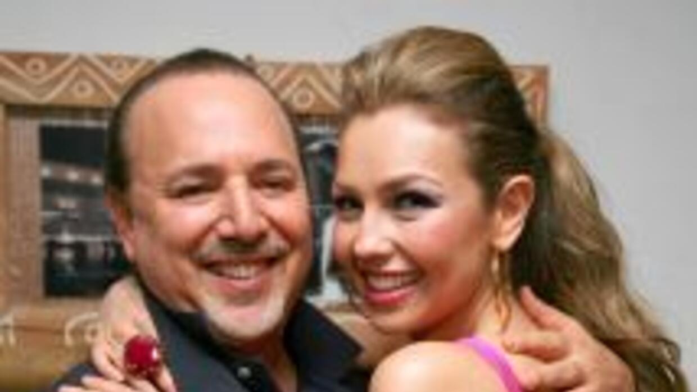 Thalía y Tommy Mottola celebran diez años de matrimonio.