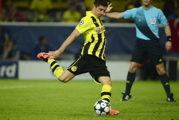 Penalti a favor del Dortmund y todos querían ver que lo cobrara e...