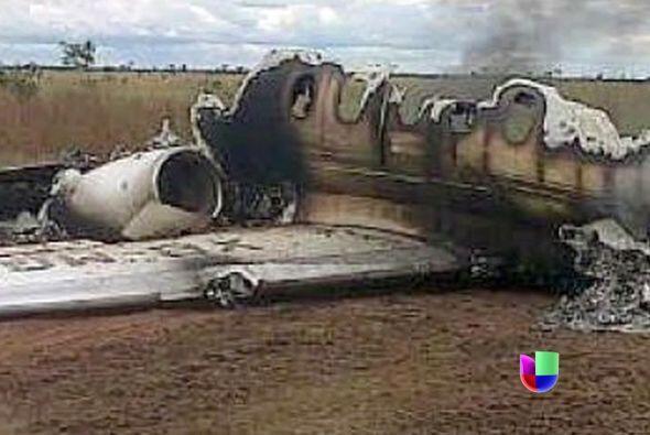 El avión con matrícula mexicana fue obligado a aterrizar e...
