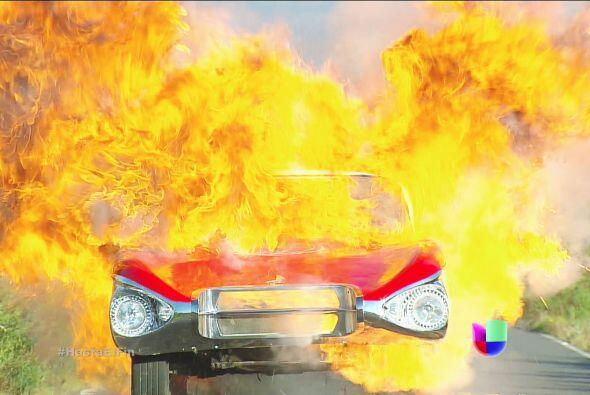 ¡Mira Chavita! El 'Bebé' está ardiendo en llamas.