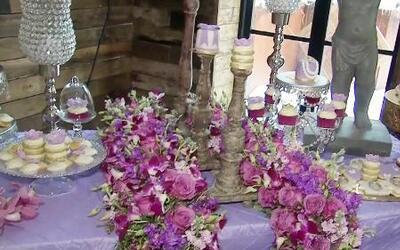 Birmania Ríos descubrió lo último en decoración para bodas