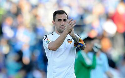 Paco Alcácer no jugará hoy con el valencia y posiblemente...