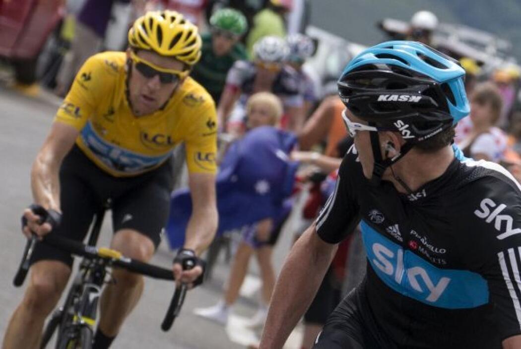 Fromme se lanzó como una moto por Valverde y sacó de rueda a Wiggins, a...