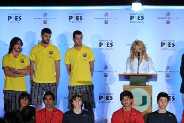 En el cumpleaños de Piqué, el futbolista publicó una fotografía donde se...