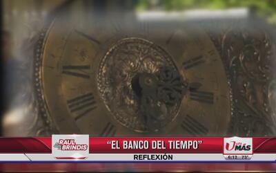 Reflexión: El banco del tiempo