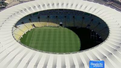 Los ojos del mundo están puestos en Brasil con el inicio del Mundial y s...