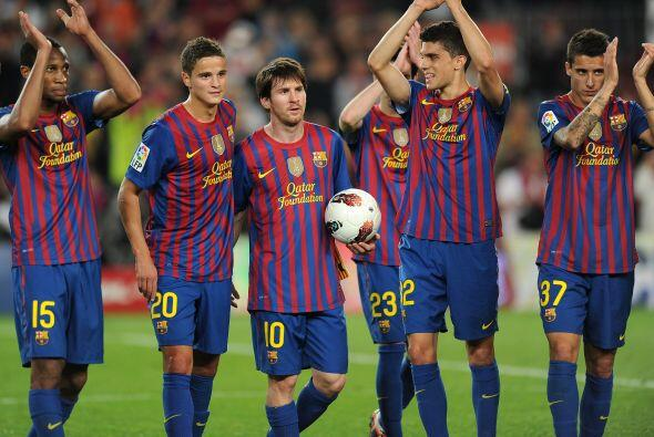 Barcelona ganó, goleó y volvió a gustar...Y Messi s...
