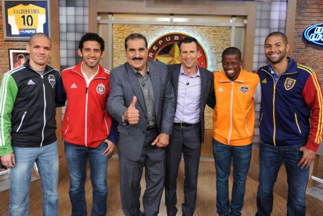 Cuatro estrellas de la MLS en la República.