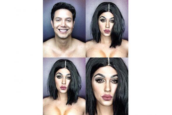 Igualito a Kylie Jenner.