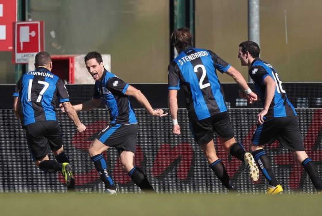 El volante del Atalanta marcó los dos tantos en la victoria de 2-0 sobre...