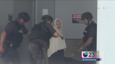 Hispana la mujer que ocasionó caos en aeropuerto de Miami