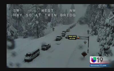 Cierran autopista l-80 y 50 debido a la nieve