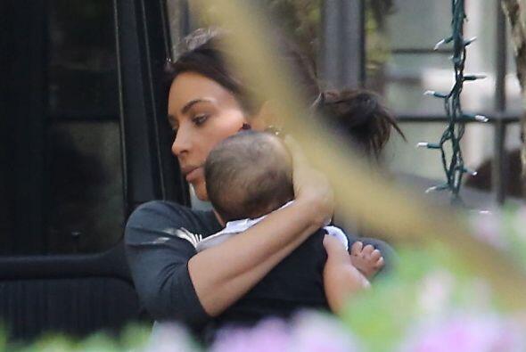 Vaya que Kim y Beyoncé son unas fieras a la hora de proteger a sus hijas...