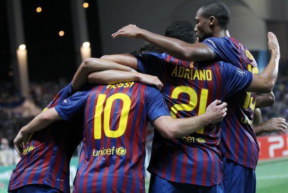 Barcelona festejó una nueva Copa y los hinchas disfrutan del mejo...