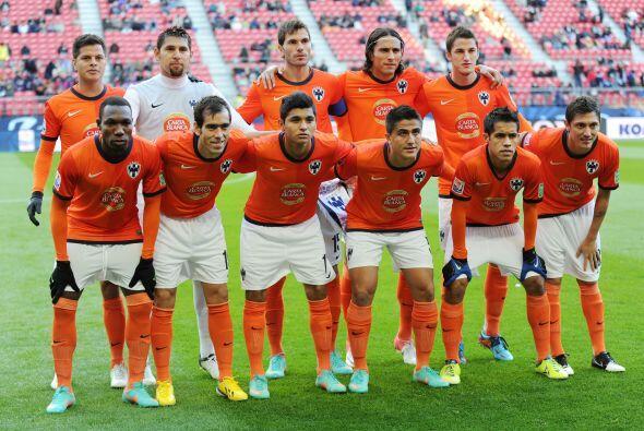 El equipo mexicano Rayados de Monterrey hizo su debut en el Mundial de C...
